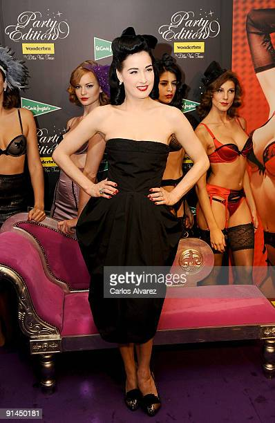 854010aa98 Dita Von Tesse attends  Party Edition  opening by Wonderbra at El Corte  Ingles Store