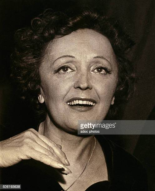 ��dith Piaf French singer Ca 1955