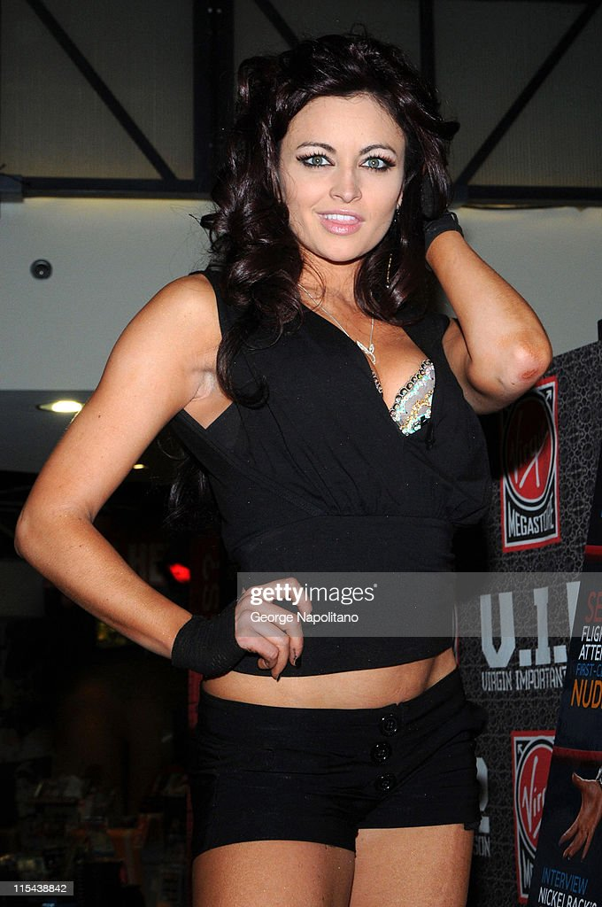 WWE Diva and Playboy model Maria appears on March 6, 2007
