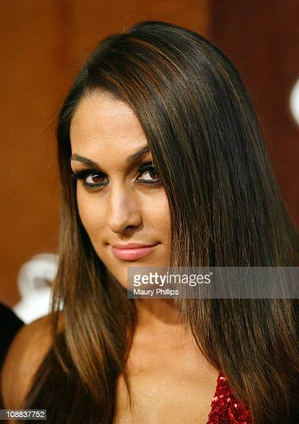 Diva Brie Bella arrives at the ESPN Magazine NEXT Party held at the NEXT Ranch on February 4 2011 in Fort Worth Texas