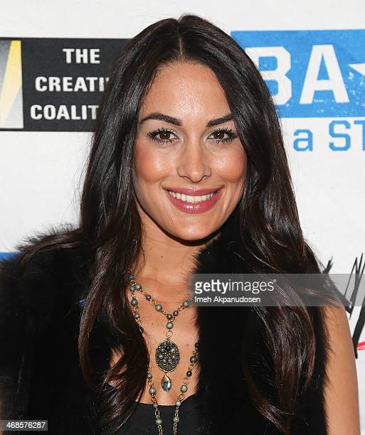 Diva Brie Bella attends a 'Be A STAR' Bullying Prevention Rally presented by WWE And The Creative Coalition at James Madison Middle School on...