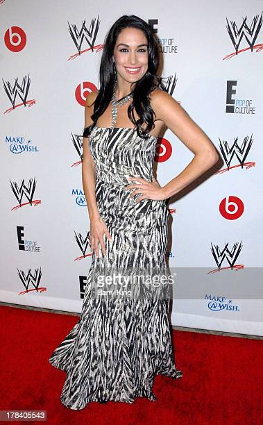 Diva Brie Bella attends the WWE SummerSlam VIP party on August 15 2013 at the Beverly Hills Hotel in Beverly Hills California