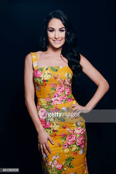 Diva Brie Bella is photographed at the Fox 2014 Teen Choice Awards at The Shrine Auditorium on August 10 2014 in Los Angeles California