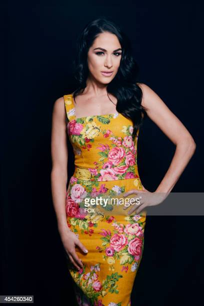 WWE diva Brie Bella is photographed at the Fox 2014 Teen Choice Awards at The Shrine Auditorium on August 10 2014 in Los Angeles California