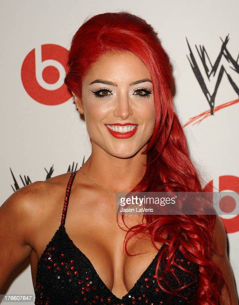Diva Eva Marie attends the WWE SummerSlam VIP party at Beverly Hills Hotel on August 15, 2013 in Beverly Hills, California.