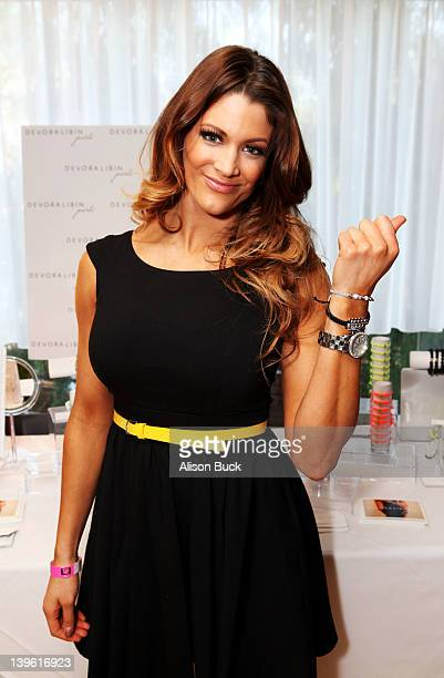 Diva Eve Marie Torres attends Kari Feinstein's Oscars Style Lounge at Mondrian Los Angeles on February 23 2012 in West Hollywood California