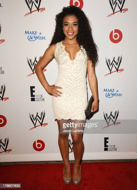 Diva Jo Jo Offerman attends the WWE SummerSlam VIP party at Beverly Hills Hotel on August 15 2013 in Beverly Hills California