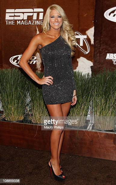 WWE Diva Kelly Kelly arrives at the ESPN Magazine 'NEXT' Party held at the NEXT Ranch on February 4 2011 in Fort Worth Texas