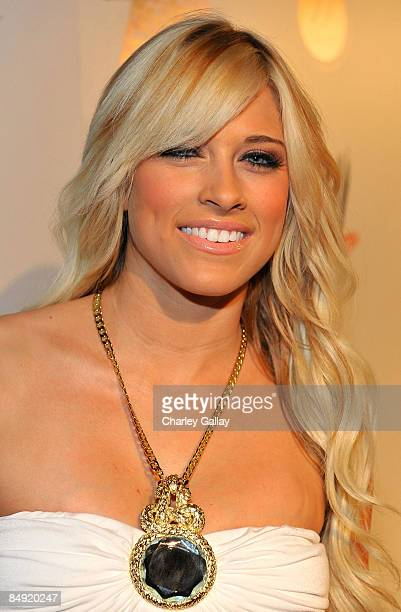 Diva Kelly Kelly attends WWE's opening night party honoring the 25th Anniversary of WrestleMania and 20th Century Fox/WWE's upcoming feature film '12...
