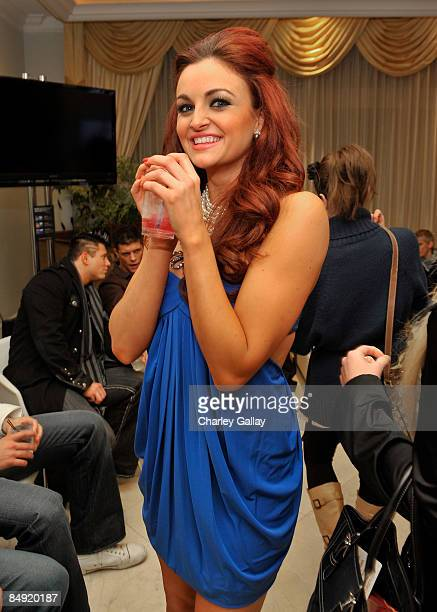 Diva Maria Kanellis attends WWE's opening night party honoring the 25th Anniversary of WrestleMania and 20th Century Fox/WWE's upcoming feature film...