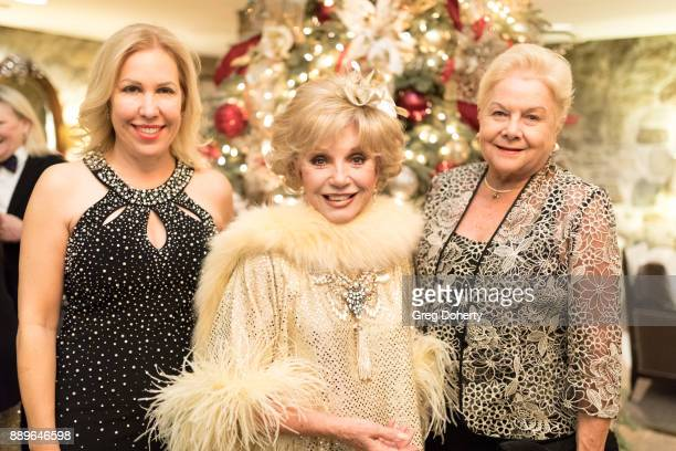 Diva Naparette Actress Ruta Lee and Maria Nabiskas attend The Thalians Hollywood for Mental Health Holiday Party 2017 at the Bel Air Country Club on...