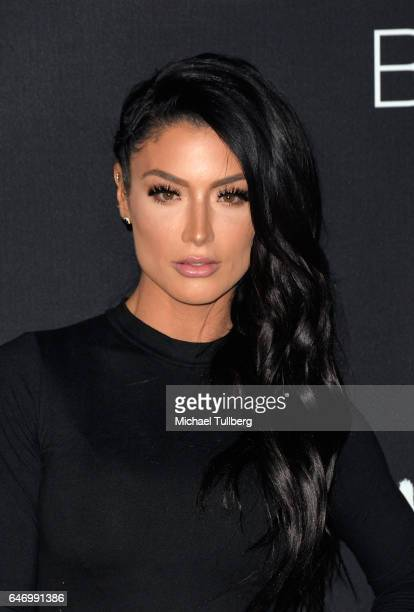 Diva Natalie Eva Marie attends the premiere of Open Road Films' 'Before I Fall' at Directors Guild Of America on March 1 2017 in Los Angeles...