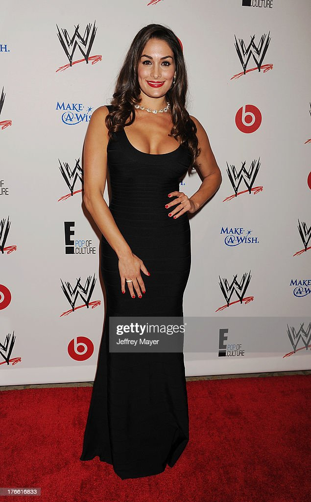 WWE Diva Nikki Bella attends WWE & E! Entertainment's 'SuperStars For Hope' at the Beverly Hills Hotel on August 15, 2013 in Beverly Hills, California.