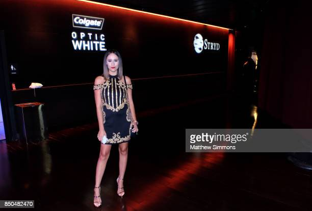 Divani Vasil attends the Latin GRAMMY Acoustic Session with Camila and Melendi at The Novo by Microsoft on September 20 2017 in Los Angeles California