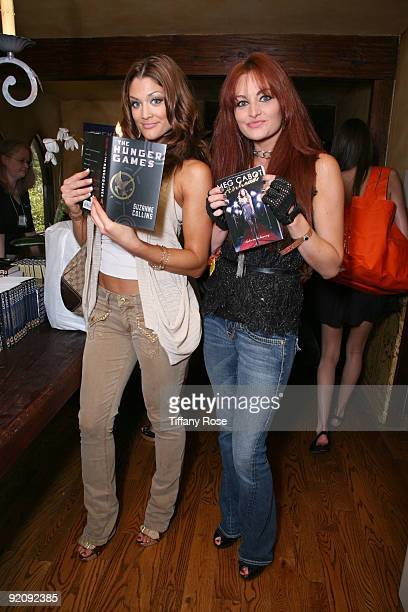 Divas Eve Torres and Maria Kanellis read books by Scholastic Inc at Melanie Segal's MTV Movie Awards House Presented by Rev 3 - Day 1 on May 28th,...
