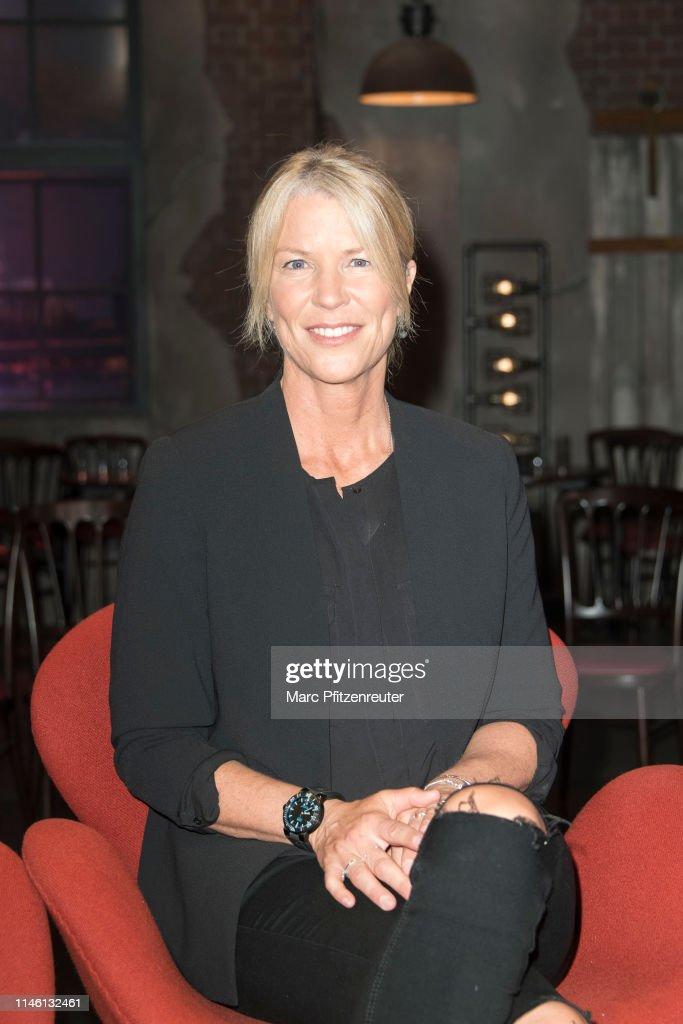 Diver Anna von Boetticher attends the Koelner Treff TV