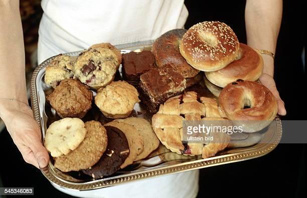 diverse Bagels und Muffins 1997
