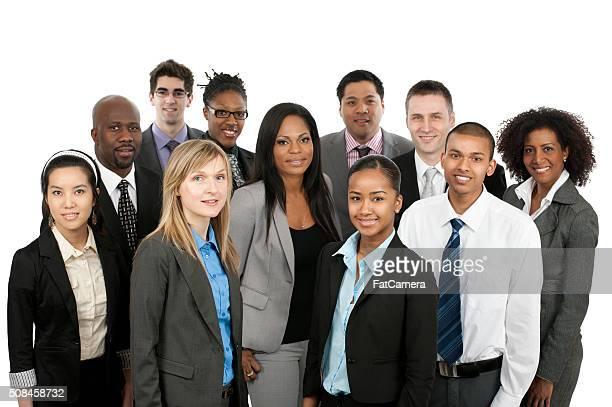 Diverse business Personen