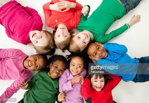 Diverse Kinder