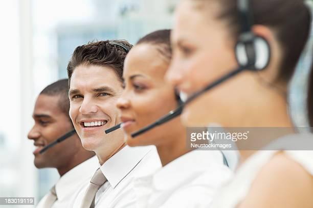 Diverse Customer Service Portrait