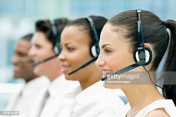 Diverse Customer Service Team