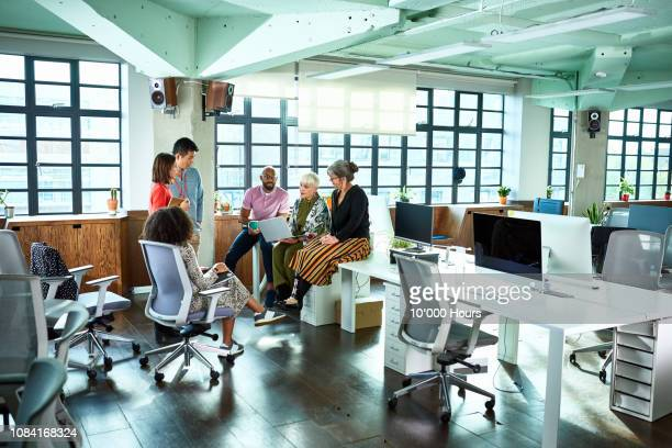 diverse group of business colleagues having informal meeting - amputee woman stock pictures, royalty-free photos & images