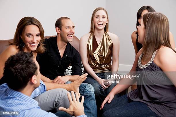 Des groupes d'amis