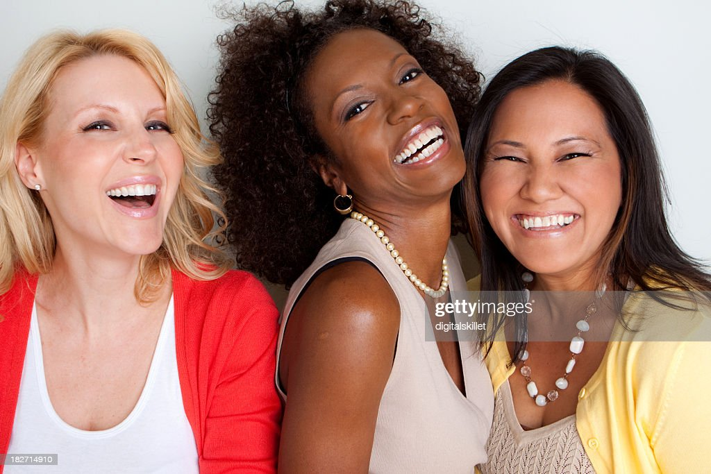 Diverse Group of Friends : Stock Photo