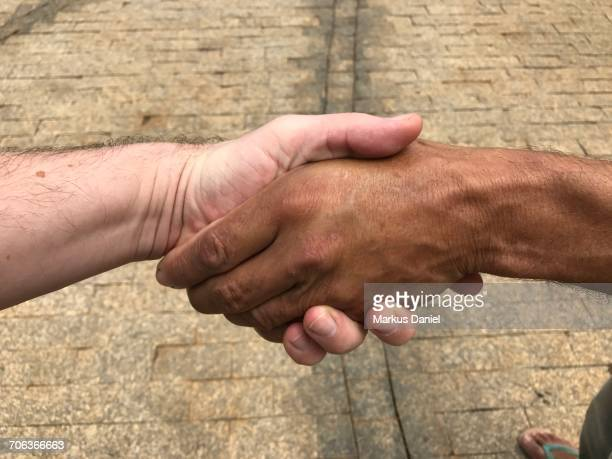 "diverse handshakes - ""markus daniel"" stock pictures, royalty-free photos & images"