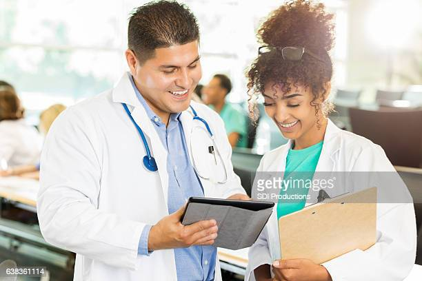 Diverse healthcare professionals attend medical conference