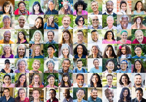 Diverse Human Faces 1187245319