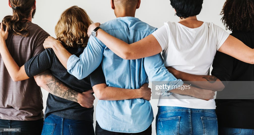 Diverse people with teamwork concept : Stock Photo