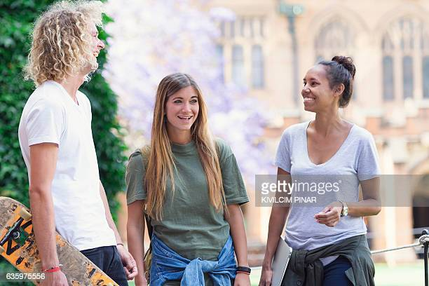 diversity in higher education - university of sydney stock pictures, royalty-free photos & images