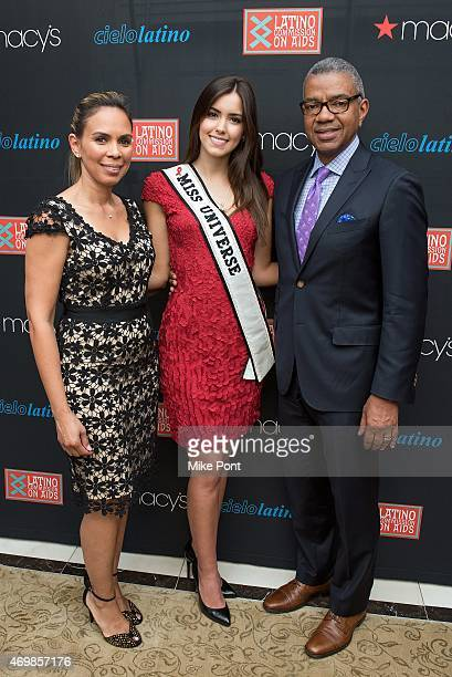 Diversity Strategies at Macy's Dineen Garcia Miss Universe 2014 Paulina Vega and SVP Diversity Strategies and Legal Affairs at Macy's Bill Hawthorne...