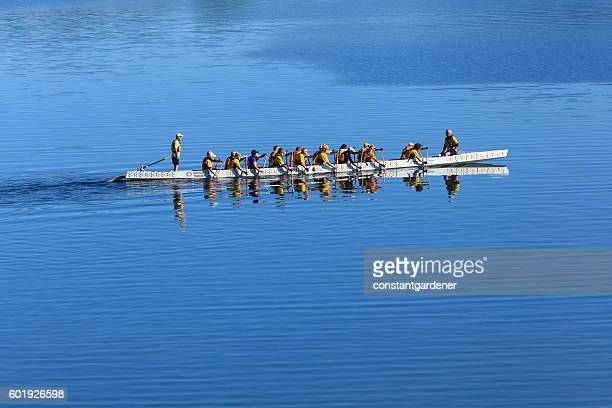 Diversity,Unity And Teamwork In A Water Sport
