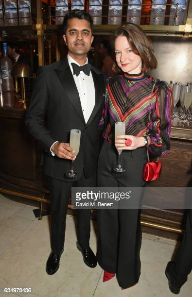Divian Ladwa and Freya Jeffs attend The Weinstein Company Entertainment Film Distributors Studiocanal 2017 BAFTA After Party in partnership with Ben...