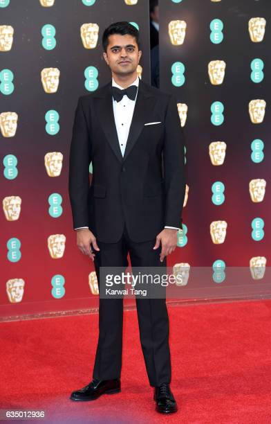 Divian Ladwa attends the 70th EE British Academy Film Awards at the Royal Albert Hall on February 12 2017 in London England