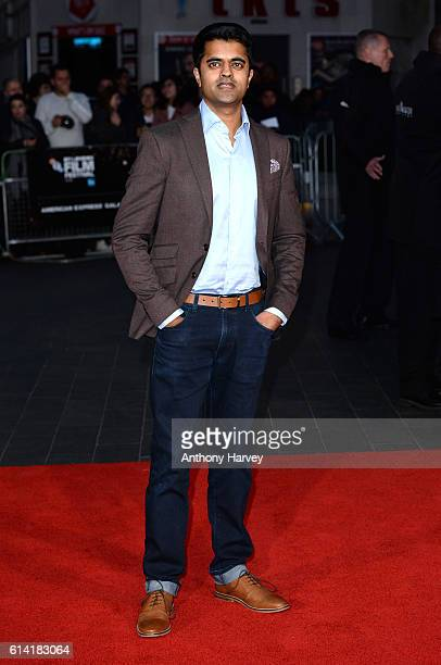 Divian Ladwa attends the 'Lion' American Express Gala screening during the 60th BFI London Film Festival at Odeon Leicester Square on October 12 2016...