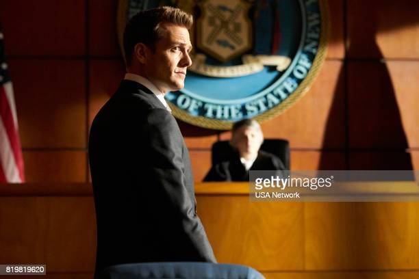 SUITS Divide and Conquer Episode 704 Pictured Gabriel Macht as Harvey Specter