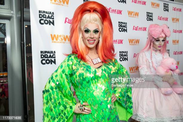 Divina De Campo attends RuPaul's DragCon 2019 at The Jacob K Javits Convention Center on September 08 2019 in New York City