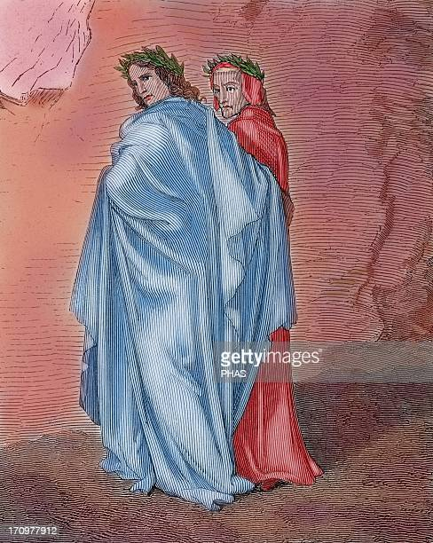 Divine Comedy Epic poem written by Dante Alighieri between 1308 and his death in 1321 Journey of Dante through the Hell guided by the Roman poet...