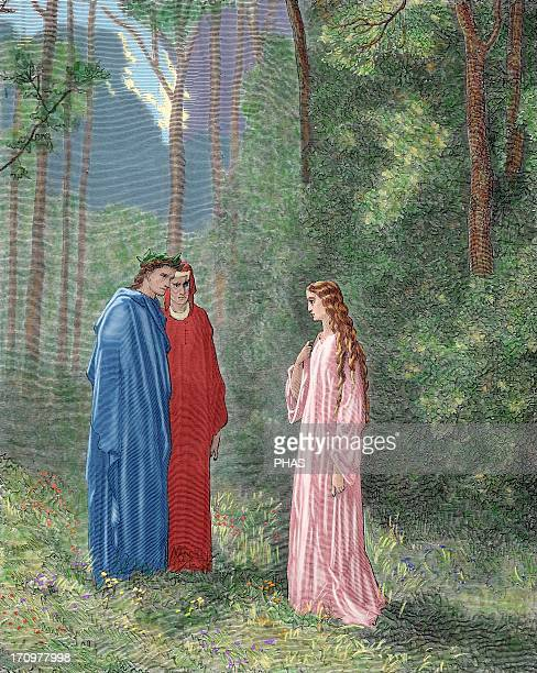Divine Comedy Epic poem written by Dante Alighieri between 1308 and his death in 1321 Dante talks with Pia dei Tolomei one of the three people who...
