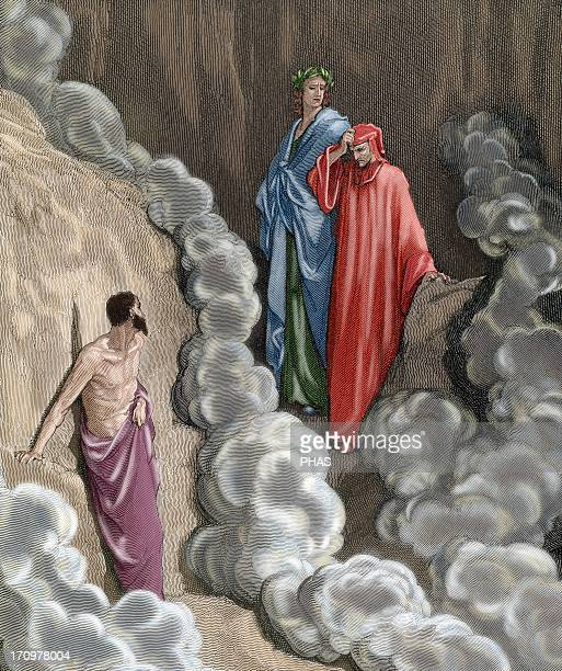 Divine Comedy. Epic poem written by Dante Alighieri between 1308 and his death in 1321. Sixteenth Canto of the Purgatory. Who are you that you are...