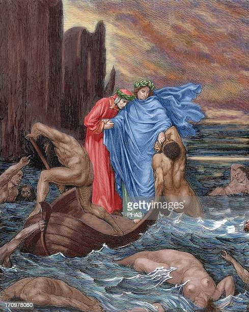 Divine Comedy Epic poem written by Dante Alighieri between 1308 and his death in 1321 Eigth Canto of Hell Dante and Virgil cross the river Styx in...