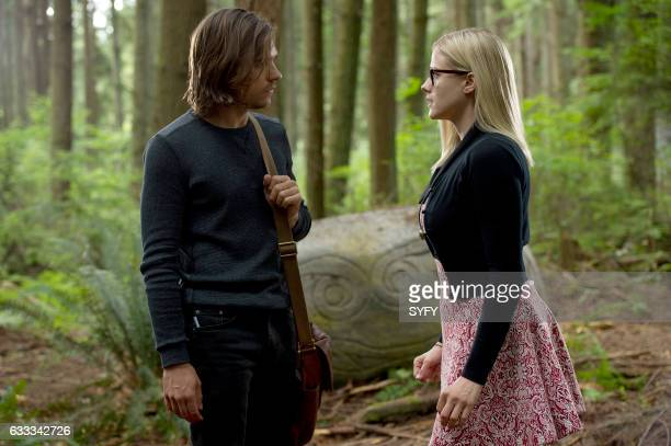 THE MAGICIANS 'Divine Elimination' Episode 203 Pictured Jason Ralph as Quentin Olivia Taylor Dudley as Alice