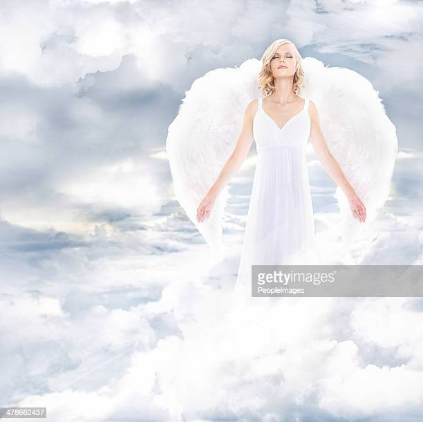 divine goddess - innocence stock pictures, royalty-free photos & images