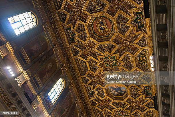 Divine light at Santa Maria in Trastevere
