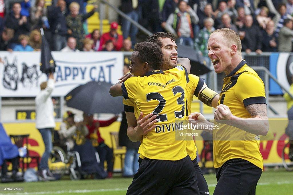 play-offs promotion/relegation - 'NAC Breda v Roda JC Kerkrade' : News Photo