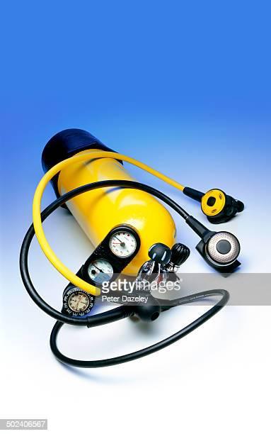 Diving aqualung