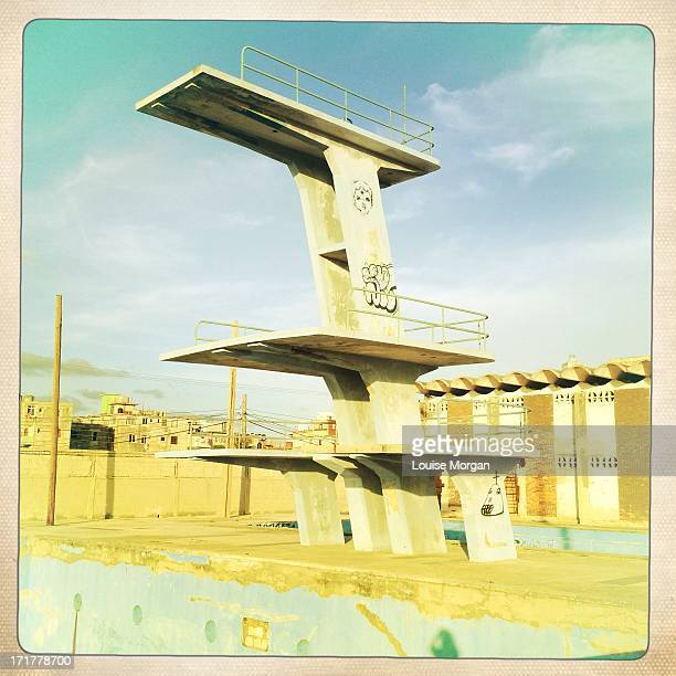 Diving Boards at Jose Marti Stadium, Havana